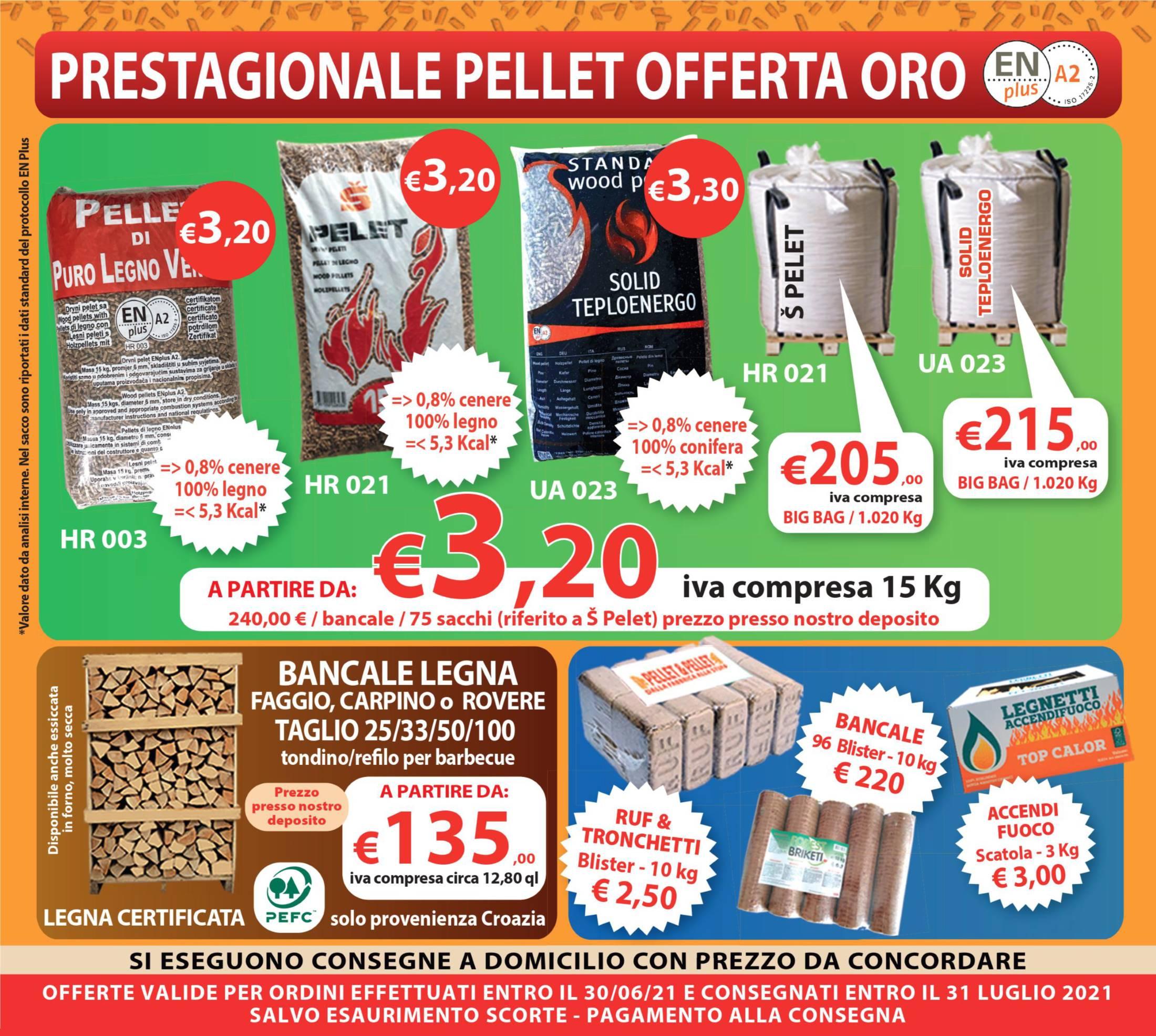 Pellet & Legna